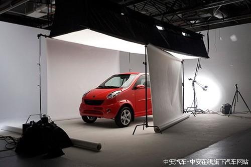 小贵族是我国第一款出口海外的纯电动汽车,两年来在美国等地高清图片